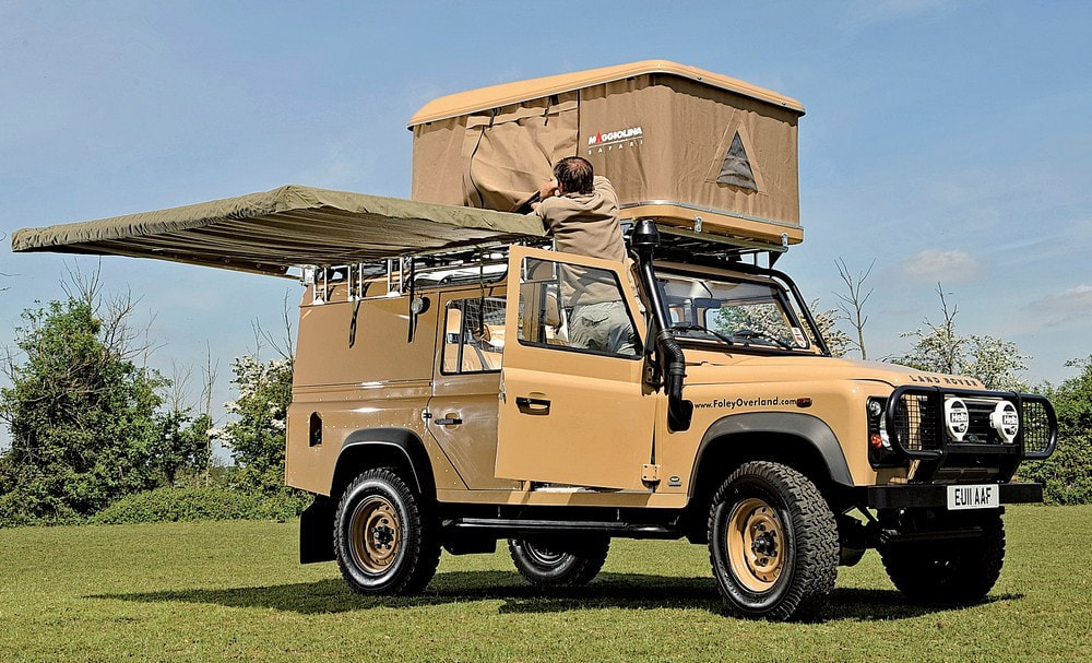 Land Rover Defender Expedition Equipt