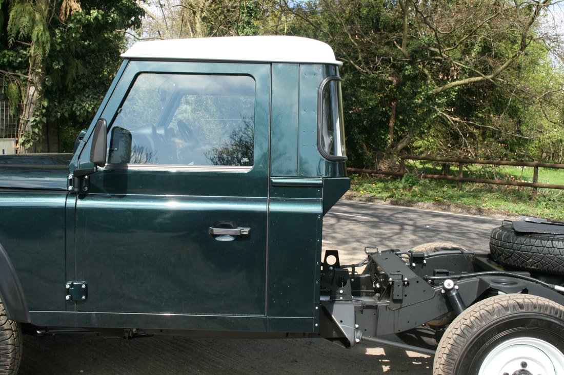 defender cab extension