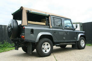 Defender 110 Soft Top Conversion