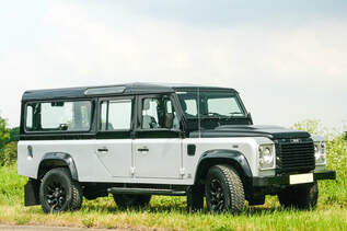130 Defender Hearse Conversion